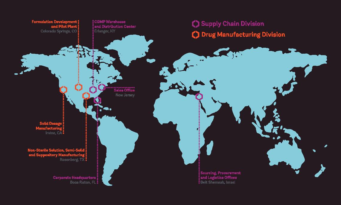 LGM Pharma Locations