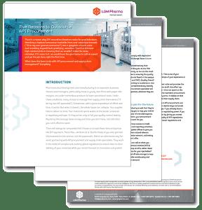 Five Reasons to Outsource API Procurement